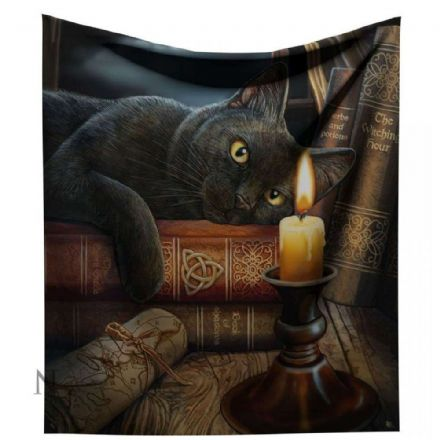 "Nemesis Now Lisa Parker ""Witching Hour"" Throw / Blanket"